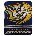 Nashville Predators Fleece Throw Blanket